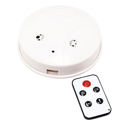 Detector de fum cu Camera Spion iUni SpyCam D100 imagine techstar.ro 2021