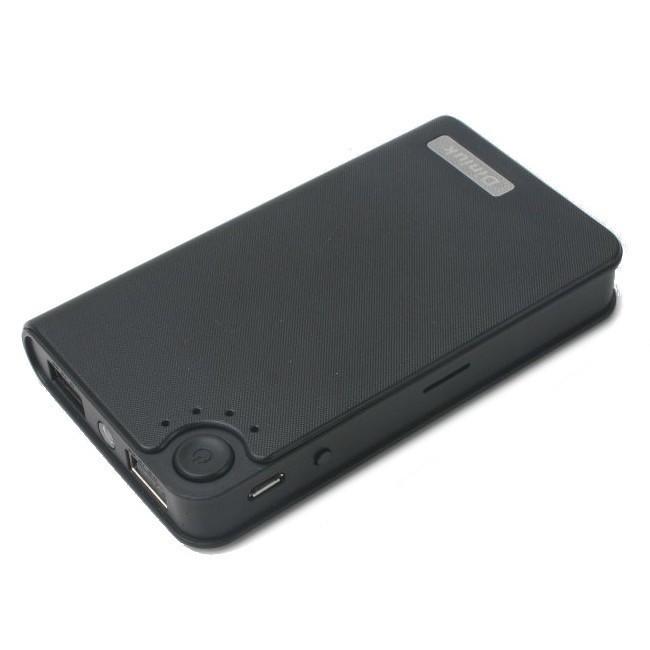 Baterie Externa cu Camera Spion iUni SpyCam HD21, Senzor CMOS, AVI, 5 MP, 1 LUX