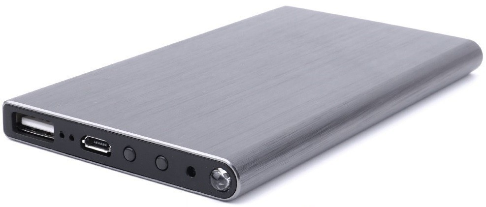 baterie externa cu camera spion full hd iuni spycam ip i6, wireless, p2p