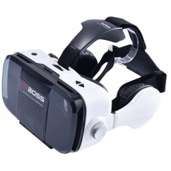 Ochelari realitate virtuala iUni VR Box X3, 3D, Ecran 4.7 -6.2 inch, Sistem de operare: Android si IOS, Casti si Microfon