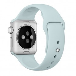 Curea pentru Apple Watch 42 mm Silicon iUni Turquoise