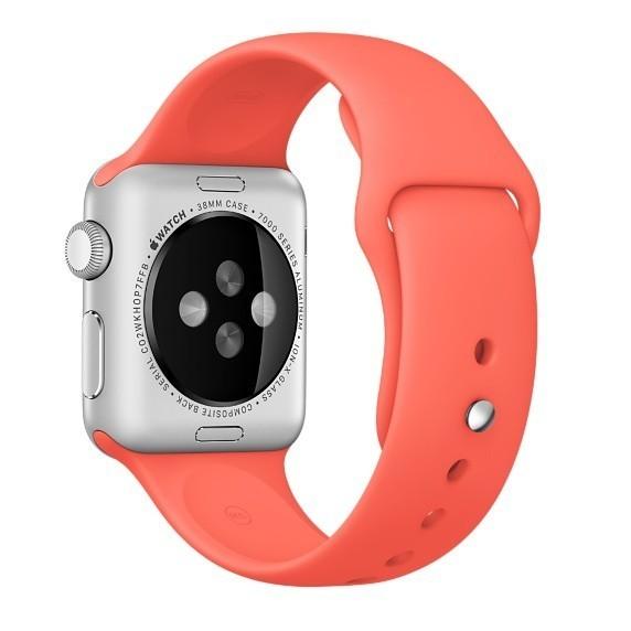 Curea pentru Apple Watch 38 mm Silicon iUni Red