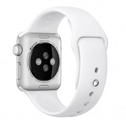 Curea pentru Apple Watch 38 mm Silicon iUni White