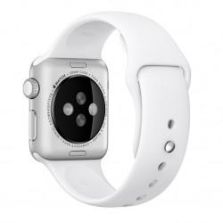 Curea pentru Apple Watch 38 mm Silicon iUni White