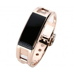 Bratara Smartband Fitness Bluetooth D8 Gold