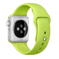 Curea pentru Apple Watch 38 mm Silicon iUni Green