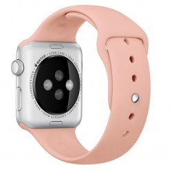 Curea pentru Apple Watch 38 mm Silicon iUni Vintage Rose