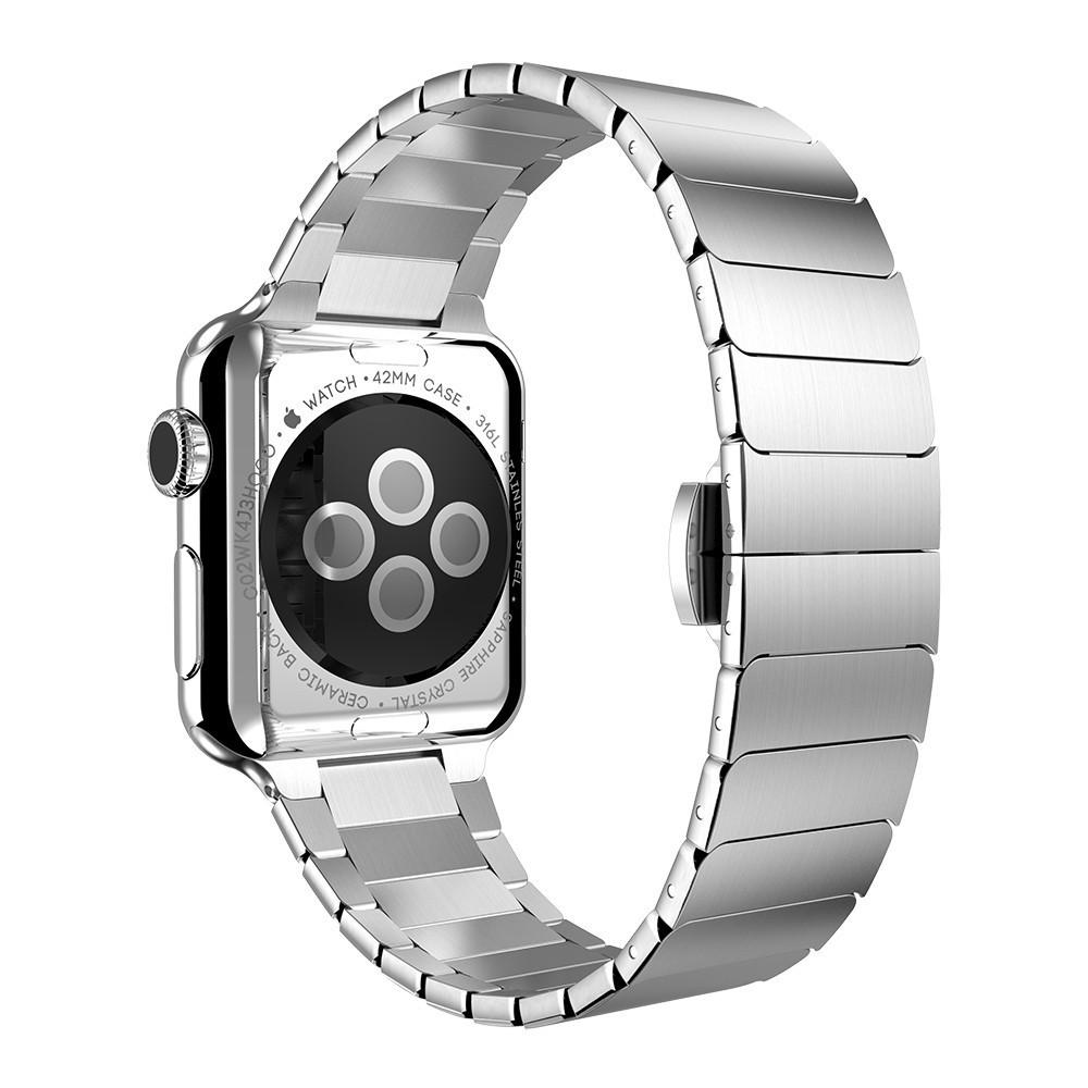 Curea pentru Apple Watch 42mm Otel Inoxidabil iUni Silver Link Bracelet