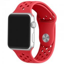 Curea pentru Apple Watch 38 mm Silicon Sport iUni Red