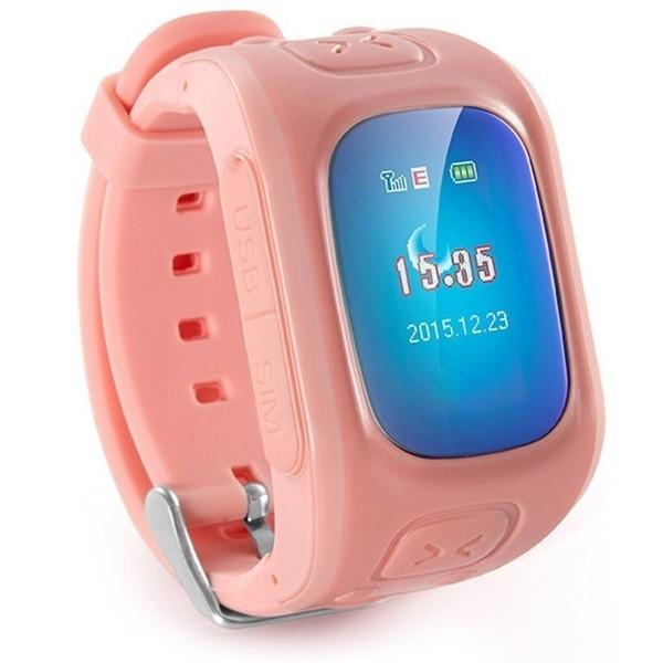 Ceas GPS Copii iUni U6, Localizare Wifi, Apel SOS, Pedometru, Monitorizare somn, Pink