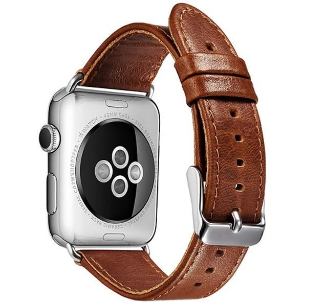 Curea pentru Apple Watch 38 mm piele iUni Vintage Brown