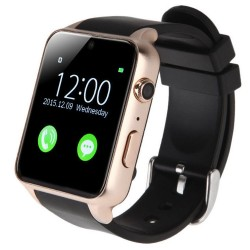 Ceas Smartwatch Telefon iUni GT88, Camera 2 MP, BT, 1.54 Inch, Gold
