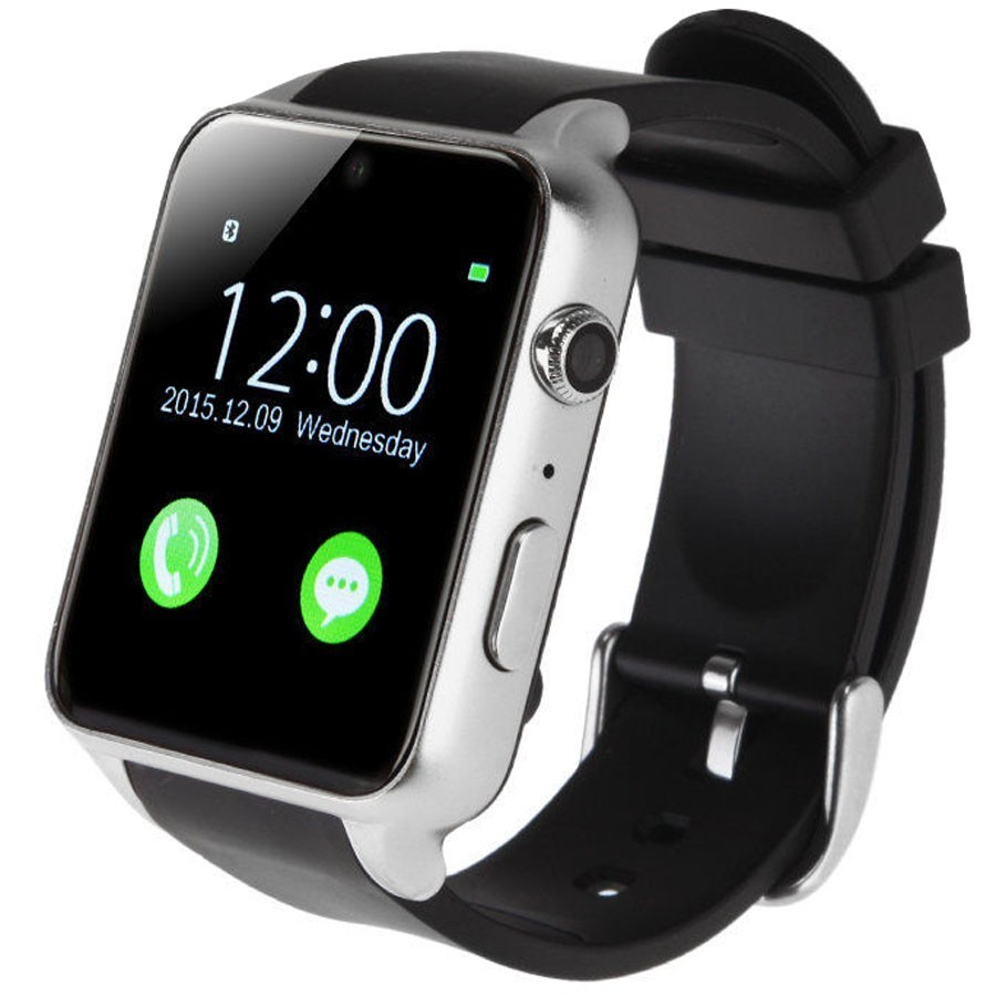 Ceas Smartwatch Telefon Iuni Gt88, Camera 2 Mp, Bt, 1.54 Inch, Silver