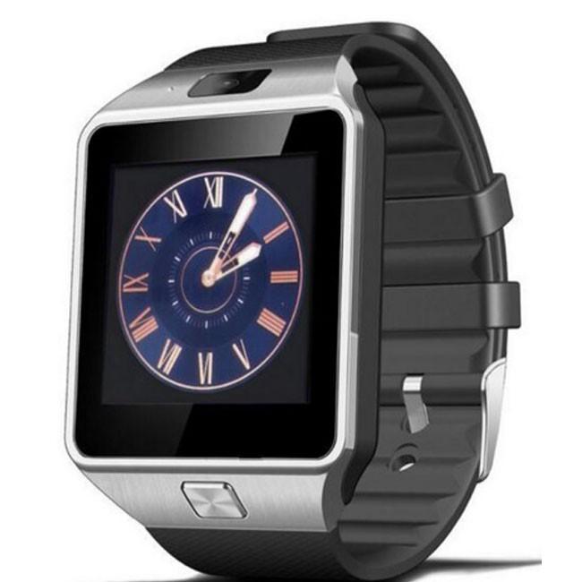 Ceas Smartwatch iUni DZ09 Plus, BT, Camera 1.3MP, 1.54 Inch, Argintiu imagine techstar.ro 2021