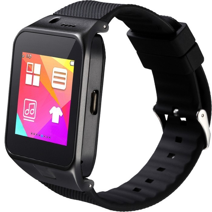 Ceas Smartwatch cu Telefon iUni U17, Camera 1.3M, BT, Slot card, Negru