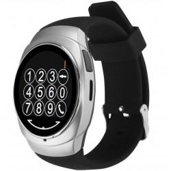Ceas Smartwatch iUni O100, BT, LCD 1.3 Inch, Camera, Silver