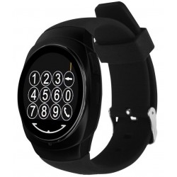 Ceas Smartwatch iUni O100, BT, LCD 1.3 Inch, Camera, Black