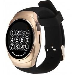 Ceas Smartwatch iUni O100, BT, LCD 1.3 Inch, Camera, Gold