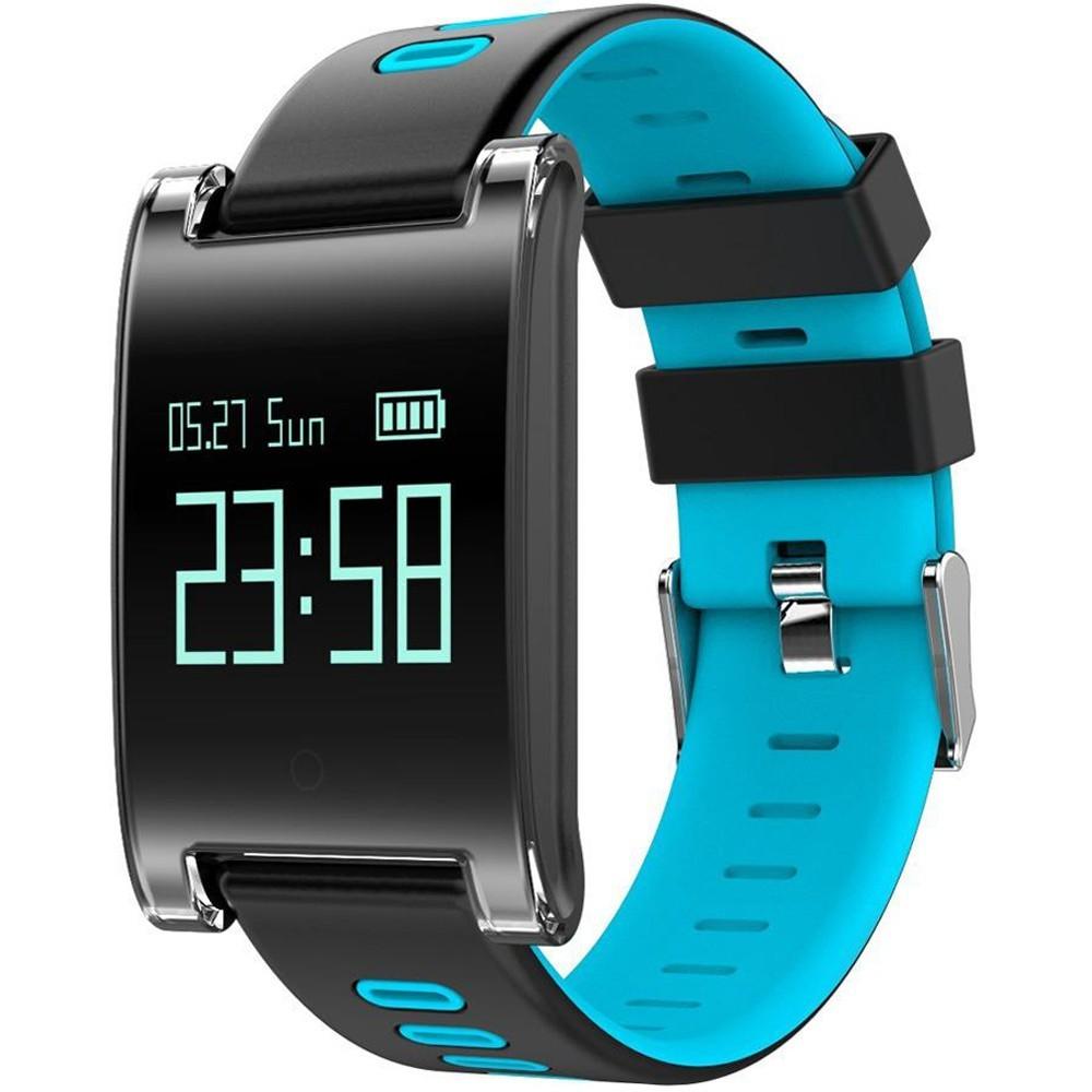 Bratara Fitness iUni DM68 Plus, Display OLED, Pedometru, Monitorizare puls, Notificari, Albastru imagine techstar.ro 2021