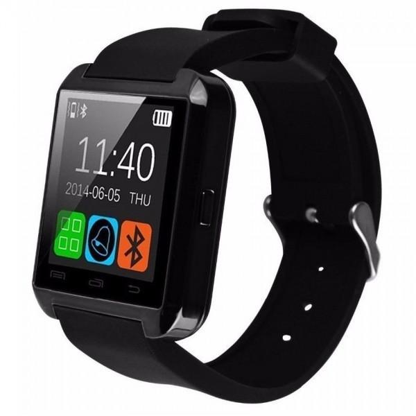 Smartwatch iUni U8+, BT, LCD 1.44 inch, Notificari, Negru imagine techstar.ro 2021