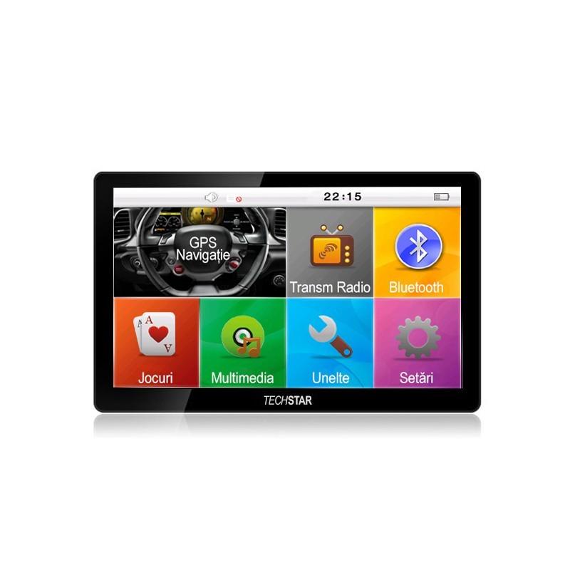 GPS AUTO TECHSTAR 7quot;quot; M9X WINDOWS 256 RAM
