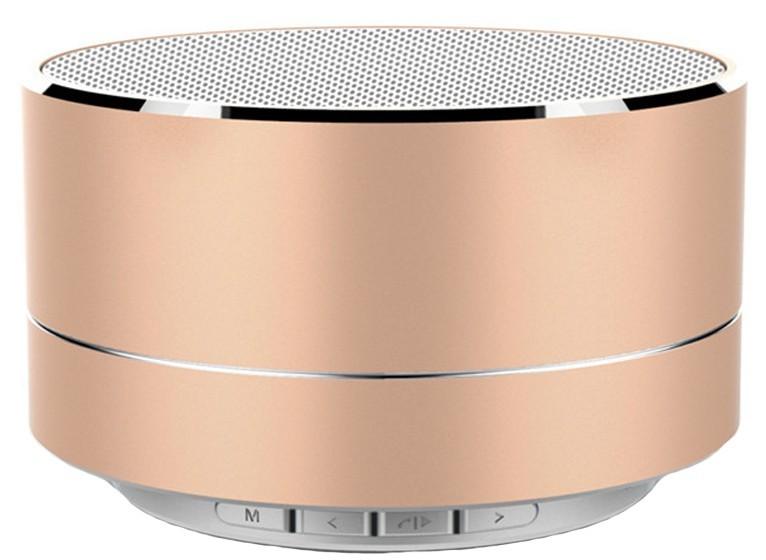 Boxa Portabila Bluetooth iUni DF11, 3W, USB, slot Card, AUX-IN, Fm radio, Aluminiu, Auriu imagine techstar.ro 2021