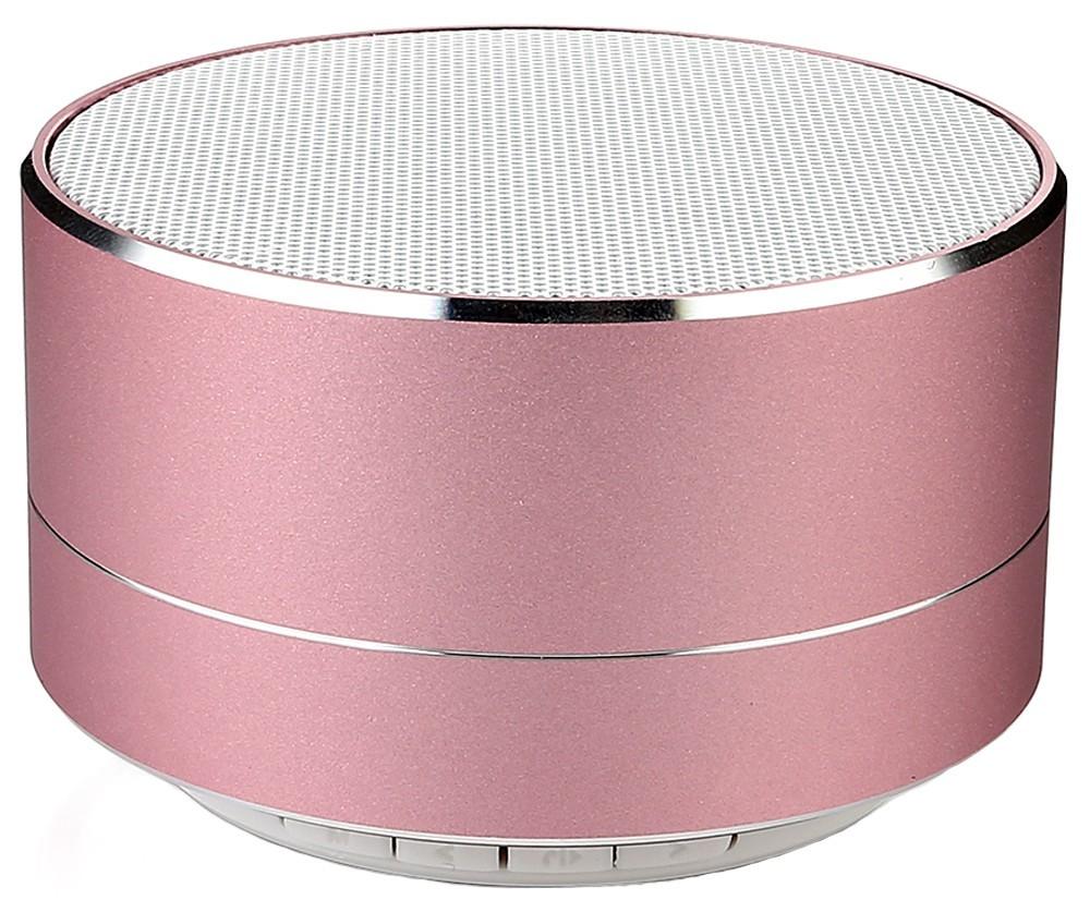 Boxa Portabila Bluetooth iUni DF11, 3W, USB, slot Card, AUX-IN, Fm radio, Aluminiu, Rose Gold imagine techstar.ro 2021