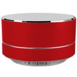 Boxa Portabila Bluetooth iUni DF11, 3W, USB, slot Card, AUX-IN, Fm radio, Aluminiu, Rosu