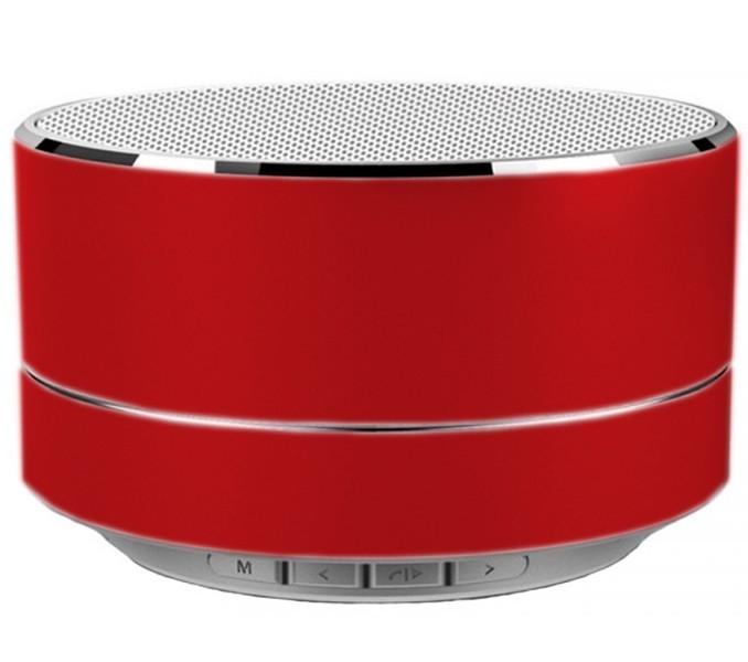 Boxa Portabila Bluetooth iUni DF11, 3W, USB, slot Card, AUX-IN, Fm radio, Aluminiu, Rosu imagine techstar.ro 2021