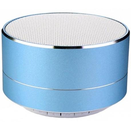 Boxa Portabila Bluetooth iUni DF11, 3W, USB, Slot Card, AUX-IN, Radio, Aluminiu, Albastru