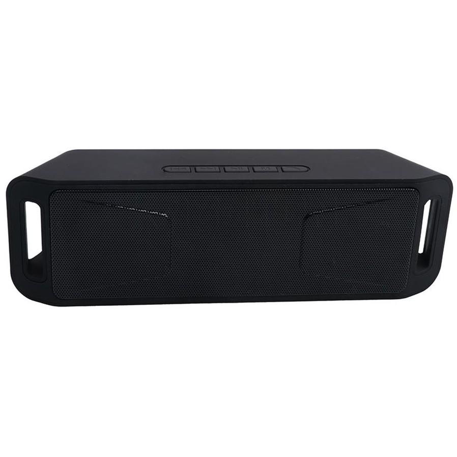 Boxa Portabila Bluetooth iUni DF02, 3W, USB, TF CARD, AUX-IN, Fm radio, Negru imagine techstar.ro 2021