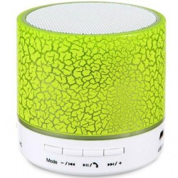 Boxa Portabila Bluetooth iUni DF09, Big Size, 500 mAH, 3W, USB, Slot Card, AUX-IN, Radio, Aluminiu, Verde