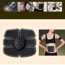 Tonifiere abdomen Aparat Electric EMS Smart Fitness + plasturi slabit Wonder Patch
