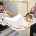 Sort pentru barbierit Alb Waterproof material textil